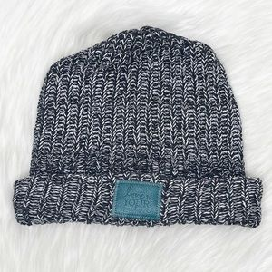 Love Your Melon Cuffed Style Black Winter Hat